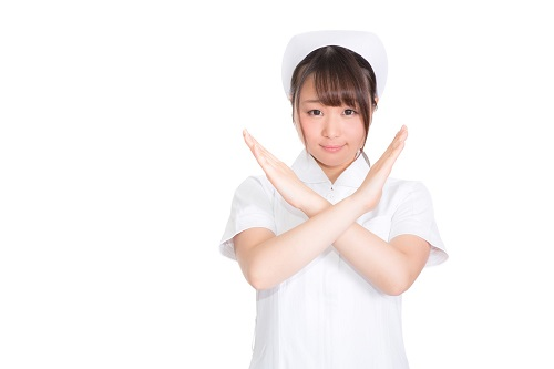 看護師NG